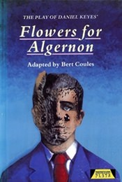 The Play of Flowers for Algernon book cover